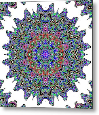 Nuclear Cell Metal Print by Ron Brown