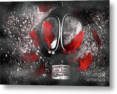 Nuclear Smog Metal Print by Jorgo Photography - Wall Art Gallery