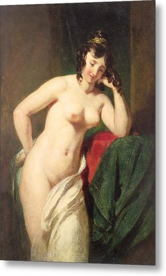 Nude Metal Print by William Etty