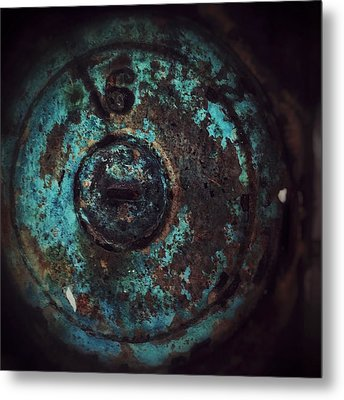 Metal Print featuring the photograph Number 6 by Olivier Calas