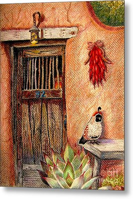 Number 82 Metal Print by Marilyn Smith