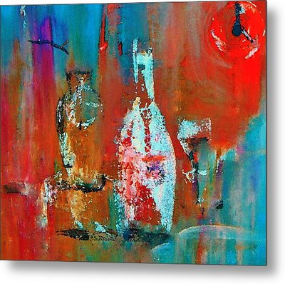 Numbers One Two Two Zero Metal Print by Lisa Kaiser