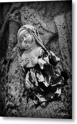 Nun Of Your Business Metal Print by Melissa Wyatt