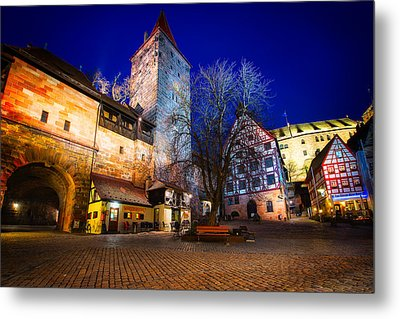 Nuremberg Old City, Nuremberg, Germany Metal Print by Nico Trinkhaus