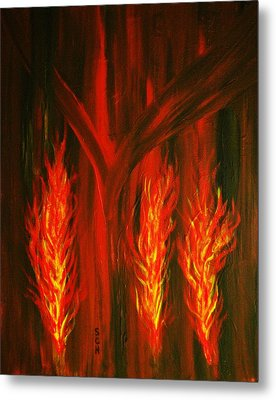 Nurture The Fire Within You Number Two Metal Print by Scott Haley