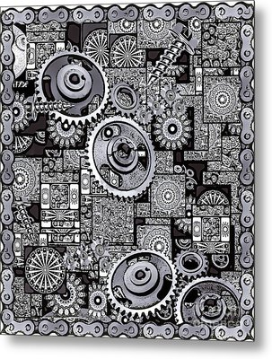 Nuts And Bolts Metal Print