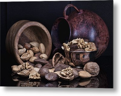 Nuts Metal Print by Tom Mc Nemar