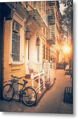 Nyc Autumn Metal Print by Vivienne Gucwa