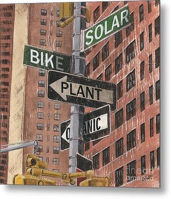 Nyc Broadway 2 Metal Print by Debbie DeWitt