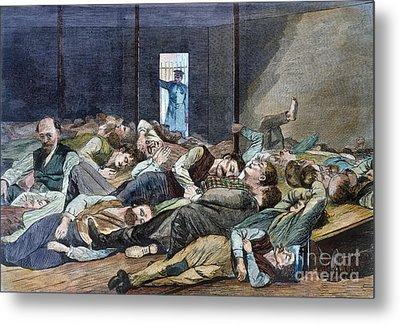 Nyc: Homeless, 1874 Metal Print by Granger