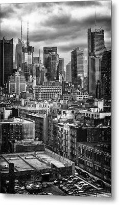 NYC Metal Print by Mauricio Jimenez