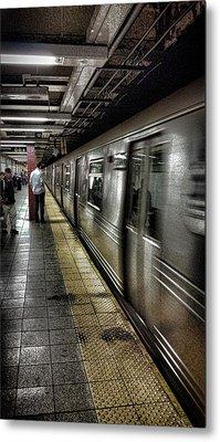 Nyc Subway Metal Print