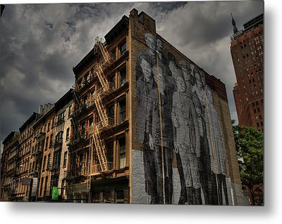 Metal Print featuring the photograph Nyc - Tribeca 001 by Lance Vaughn