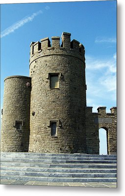 O Brien's Tower Cliffs Of Moher Ireland Metal Print by Teresa Mucha