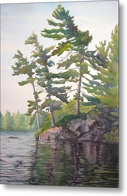 O Canada No.2 Metal Print by Debbie Homewood