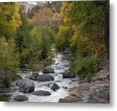 Metal Print featuring the photograph Oak Creek Canyon by Joshua House