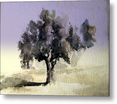 Oak Tree Metal Print by Steven Holder
