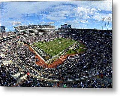 Oakland Raiders O.co Coliseum Metal Print