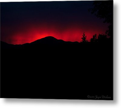 Oakrun Sunset 06 09 15 Metal Print by Joyce Dickens