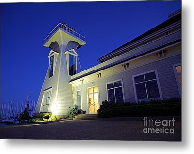 Oakville Lighthouse Metal Print by Charline Xia