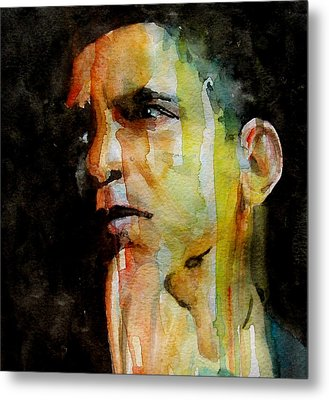 Obama Metal Print by Paul Lovering