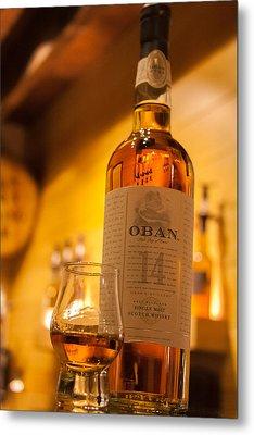 Oban Whisky Metal Print