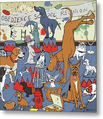 Obedience School Reunion Metal Print