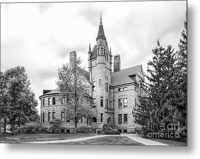 Oberlin College Peters Hall Metal Print by University Icons