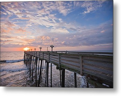 Obx Sunrise Metal Print by Adam Romanowicz