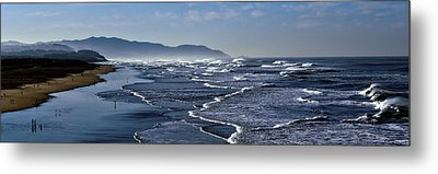 Metal Print featuring the photograph Ocean Beach San Francisco by Steve Siri