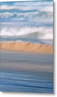 Ocean Caress Metal Print by Az Jackson