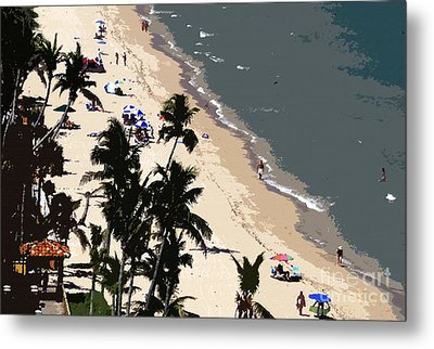Ocean Paradise Metal Print by David Lee Thompson