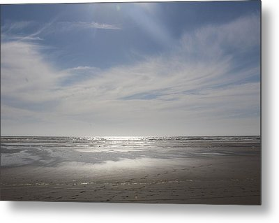 Ocean Shores Metal Print by Suzanne Lorenz