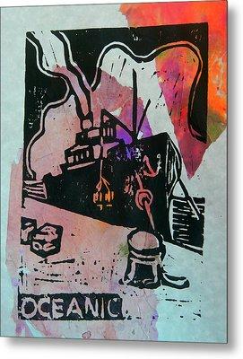 Oceanic - Sunrise Metal Print by Adam Kissel