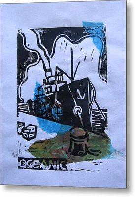 Oceanic Metal Print by Adam Kissel