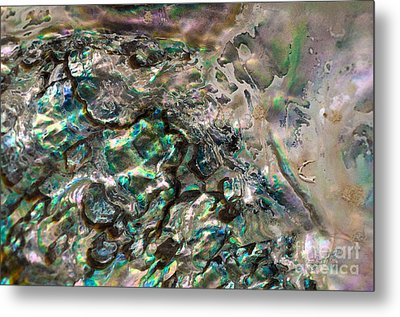 Oceanic Eruption Metal Print by Joy Gerow