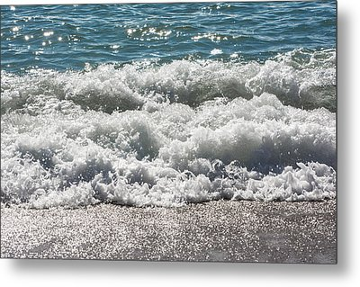 Metal Print featuring the photograph Oceans Layers by Colleen Coccia