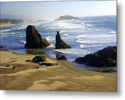 Oceanscape Metal Print by Marty Koch