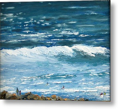 Oceanside 3 O'clock Metal Print