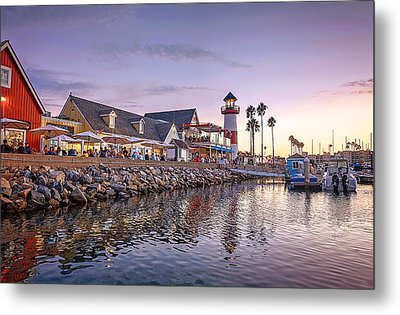 Oceanside Harbor Metal Print by Ann Patterson