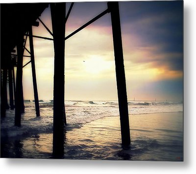 Metal Print featuring the photograph Oceanside - Late Afternoon by Glenn McCarthy