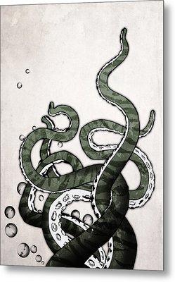 Octopus Tentacles Metal Print by Nicklas Gustafsson