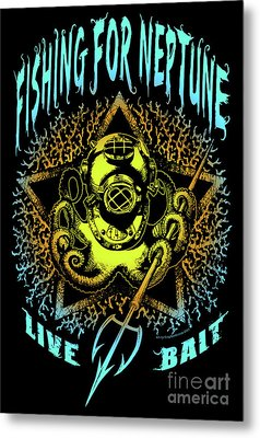 Octo Metal Print by Tony Koehl