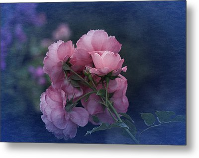 Metal Print featuring the photograph October 2016 Roses No. 2 by Richard Cummings