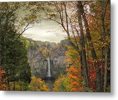 October At Taughannock Metal Print by Jessica Jenney
