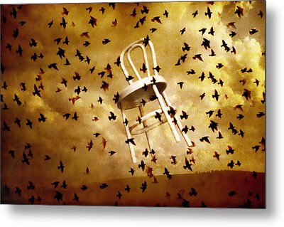 Metal Print featuring the photograph October by Jeff  Gettis
