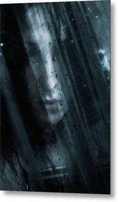 October Rain Metal Print