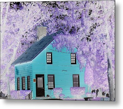 Metal Print featuring the photograph October  by Reina Resto
