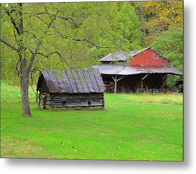 October Saturday Afternoon Metal Print by Terry  Wiley