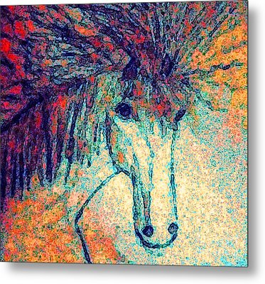 October Spectra Metal Print by Holly Martinson